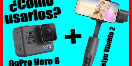 Aprende a usar el gimbal de feiyu vimble 2 con la GoPro